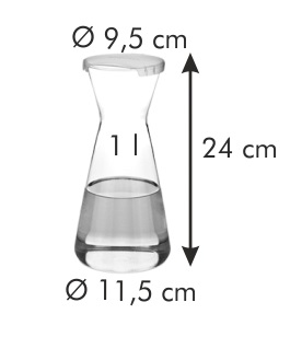 Графин UNO VINO, 1.0 л