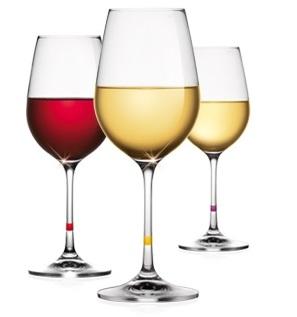 Бокалы для вина UNO VINO 350 мл, 6 шт