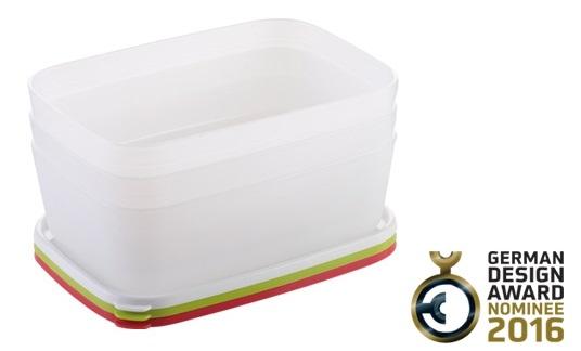 Контейнеры для заморозки PURITY 1,5 л, 3 шт