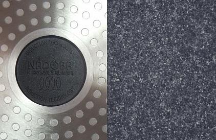 Кастрюля с антипригарным покрытием 2,4 л. с крышкой  20 см.