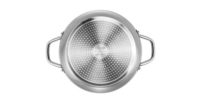 Глубокая сковорода GrandCHEF ø 28 см, 2 ручки