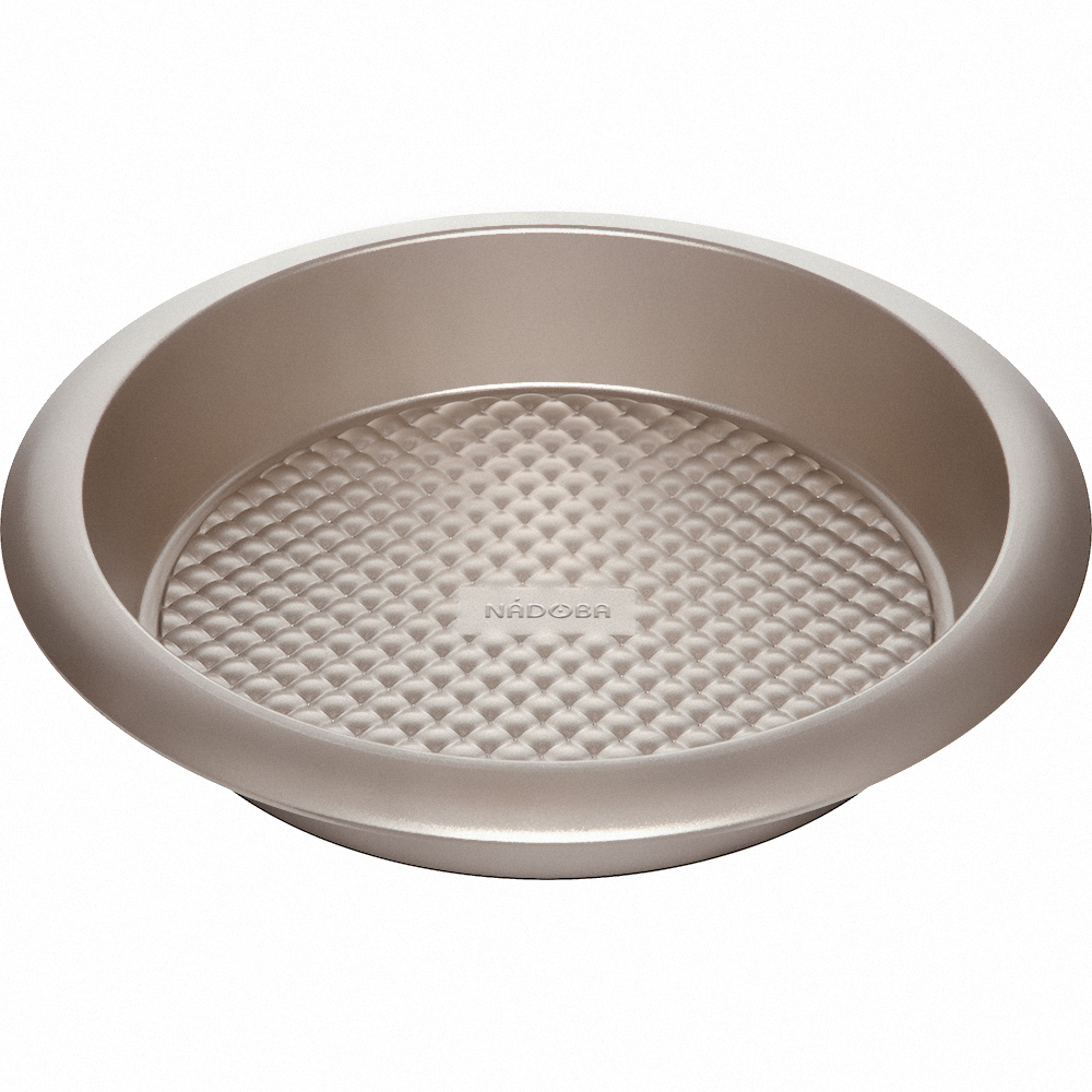 Форма для выпечки круглая большая,  стальная, антипригарная, 29,5х5,5 см, NADOBA, серия RÁDA
