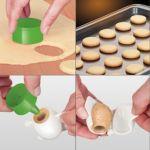 Формочки для печенья с начинкой DELICIA, 3 пасхальных формы