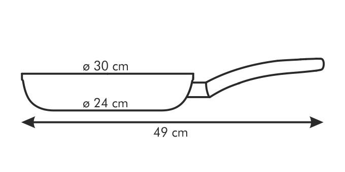 Сковорода VITAPAN 30 см