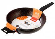 Глубокая сковорода с антипригарным покрытием, 28 см, NADOBA, серия KOSTA