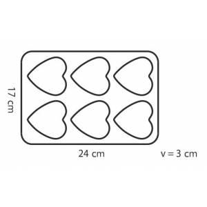 Форма - 6 сердец