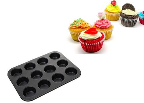 Форма для кексов 12 ячеек