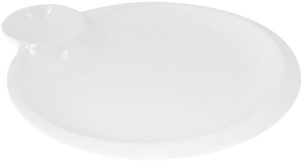 Блюдо Wilmax с соусником круглое 20 см