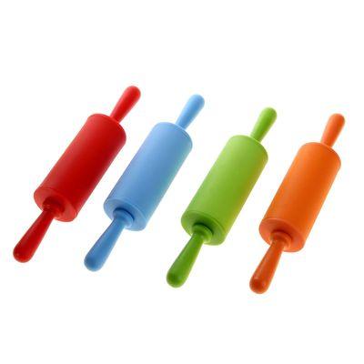 Скалка силиконовая 22 цвета МИКС