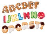 Формочки азбука DELICIA KIDS, 34 шт.