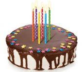 Свечи для торта с подставками DELICIA KIDS 10 см, 12 шт.