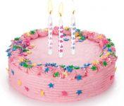 Свечи для торта с подставками DELICIA KIDS 6 см, 12 шт., одноцветные